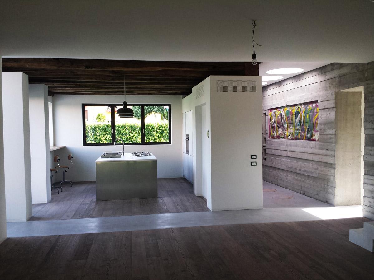 Interni casa legno design minimal pulita stile arte case for Casa stile minimal