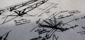 disegno professore giunto legno black white