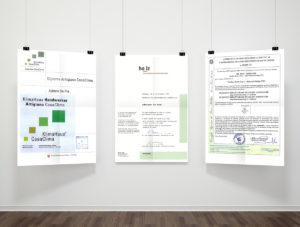 Case in legno, certificati, prima parte