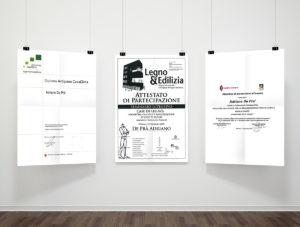certificati di Adriano de Prà