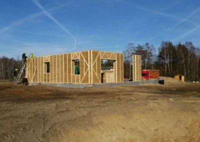 Costruzione casa con pannelli Ecococon