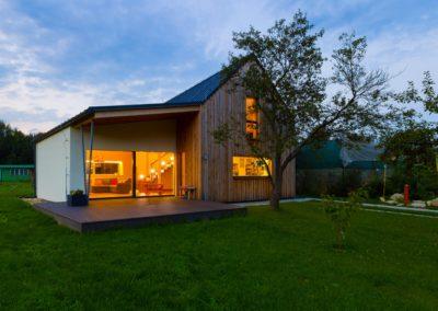 Casa ultimata - Realizzata con pannelli Ecococon