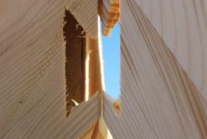 giunto tetto legno