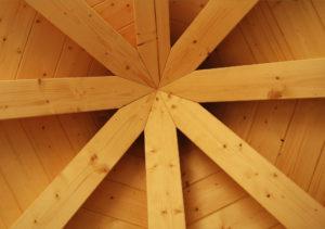 giunto tetto legno-legno De Prà