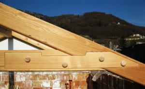 Giunto legno particolare