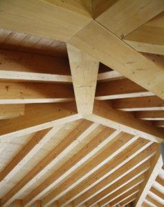 Lavori De Prà, Qualità che si vede, tetto legno