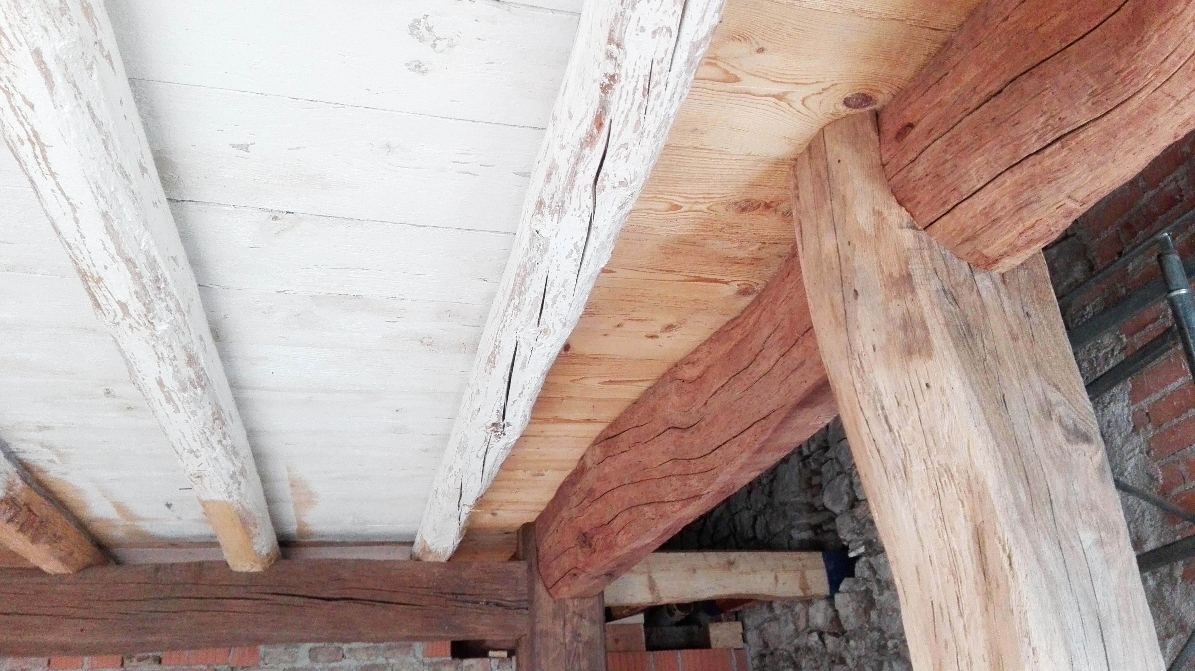 Sostituzione Travi In Legno Solai area tecnica | le soluzioni de prà | case in legno de prà