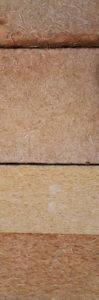 Fibre di legno: materiale isolante