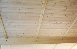 Soffitto con isolamento